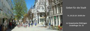 Gebet für die Stadt @ Gospel Center Böblingen | Böblingen | Baden-Württemberg | Deutschland